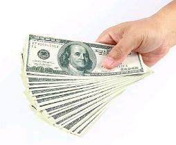 Hand full of Dollars