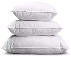 Picture of soft pillows for comfort